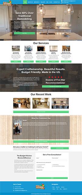 Budget Kitchen Renew Homepage